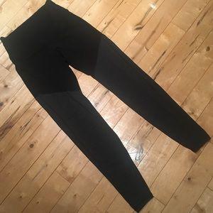 High waisted color block leggings